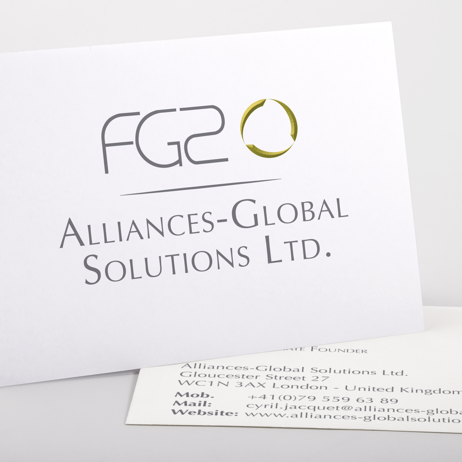 Logo pour la société Alliances-Global Solution LTD
